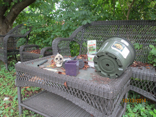 The way of all lawn furniture.